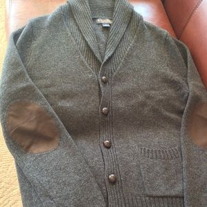 Brooks Brothers 100% Wool Shawl Collar Pub Jacket